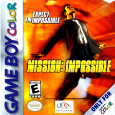 Mission Impossible Nintendo Game Boy Color cover artwork