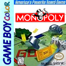 Monopoly Nintendo Game Boy Color cover artwork