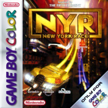 N.Y. Race Nintendo Game Boy Color cover artwork