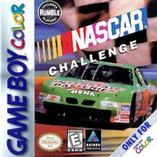 NASCAR Challenge Nintendo Game Boy Color cover artwork
