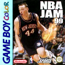 NBA Jam '99 Nintendo Game Boy Color cover artwork