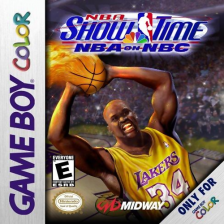 NBA Show Time - NBA on NBC Nintendo Game Boy Color cover artwork