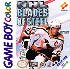 NHL Blades of Steel Nintendo Game Boy Color cover artwork