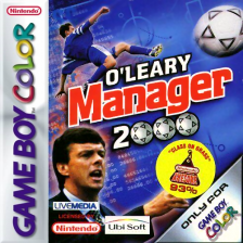O'Leary Manager 2000 Nintendo Game Boy Color cover artwork