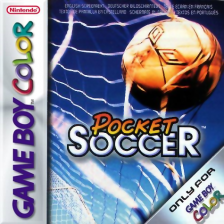 Pocket Soccer Nintendo Game Boy Color cover artwork