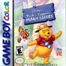 Pooh and Tigger's Hunny Safari Nintendo Game Boy Color cover artwork