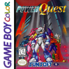 Power Quest Nintendo Game Boy Color cover artwork