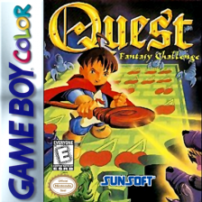 Quest - Fantasy Challenge Nintendo Game Boy Color cover artwork