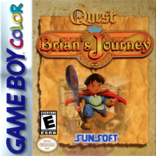 Quest RPG - Brian's Journey Nintendo Game Boy Color cover artwork