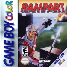 Rampart Nintendo Game Boy Color cover artwork