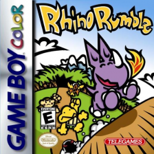 Rhino Rumble Nintendo Game Boy Color cover artwork