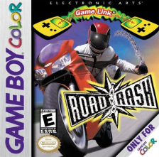 Road Rash Nintendo Game Boy Color cover artwork