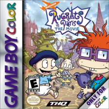 Rugrats in Paris - The Movie Nintendo Game Boy Color cover artwork
