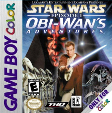 Star Wars Episode I - Obi-Wan's Adventures Nintendo Game Boy Color cover artwork
