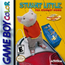 Stuart Little - The Journey Home Nintendo Game Boy Color cover artwork