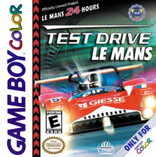 Test Drive Le Mans Nintendo Game Boy Color cover artwork