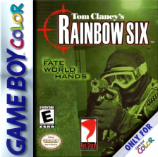 Tom Clancy's Rainbow Six Nintendo Game Boy Color cover artwork