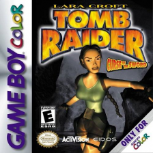 Tomb Raider - Curse of the Sword Nintendo Game Boy Color cover artwork