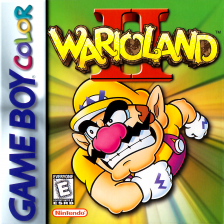 Wario Land II Nintendo Game Boy Color cover artwork