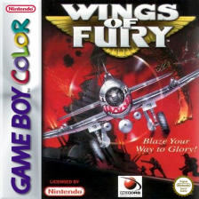 Wings of Fury Nintendo Game Boy Color cover artwork
