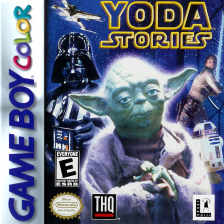 Yoda Stories Nintendo Game Boy Color cover artwork