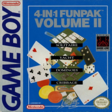 4-in-1 Fun Pak Volume II Nintendo Game Boy cover artwork