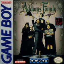 Addams Family, The Nintendo Game Boy cover artwork