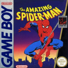 Amazing Spider-Man, The Nintendo Game Boy cover artwork
