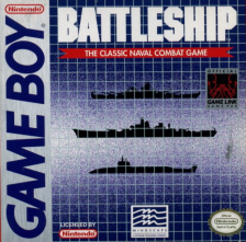 Battleship Nintendo Game Boy cover artwork