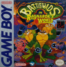 Battletoads in Ragnarok's World Nintendo Game Boy cover artwork
