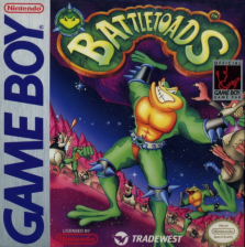 Battletoads Nintendo Game Boy cover artwork