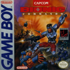 Bionic Commando Nintendo Game Boy cover artwork