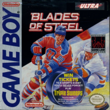 Blades of Steel Nintendo Game Boy cover artwork