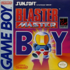 Blaster Master Boy Nintendo Game Boy cover artwork