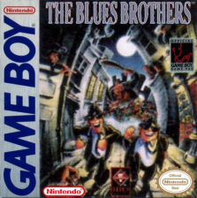 Blues Brothers, The Nintendo Game Boy cover artwork