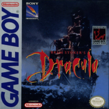 Bram Stoker's Dracula Nintendo Game Boy cover artwork