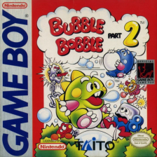 Bubble Bobble Part 2 Nintendo Game Boy cover artwork