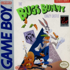 Bugs Bunny Crazy Castle 2, The Nintendo Game Boy cover artwork