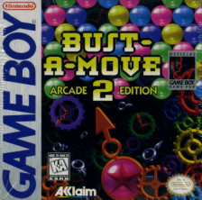 Bust-A-Move 2 - Arcade Edition Nintendo Game Boy cover artwork