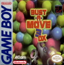 Bust-A-Move 3 DX Nintendo Game Boy cover artwork