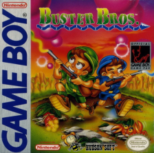 Buster Bros. Nintendo Game Boy cover artwork