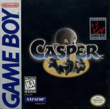 Casper Nintendo Game Boy cover artwork