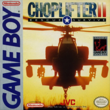 Choplifter II - Rescue & Survive Nintendo Game Boy cover artwork