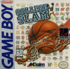 College Slam Nintendo Game Boy cover artwork