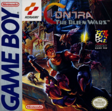 Contra - The Alien Wars Nintendo Game Boy cover artwork