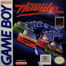 Days of Thunder Nintendo Game Boy cover artwork