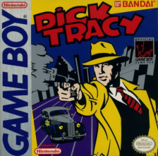 Dick Tracy Nintendo Game Boy cover artwork