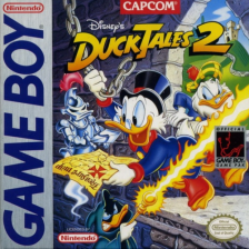 DuckTales 2 Nintendo Game Boy cover artwork