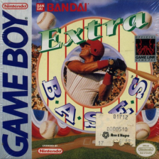 Extra Bases! Nintendo Game Boy cover artwork