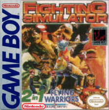 Fighting Simulator 2 in 1 Nintendo Game Boy cover artwork